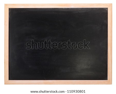 clean chalk board surface stock photo 175145000 shutterstock. Black Bedroom Furniture Sets. Home Design Ideas