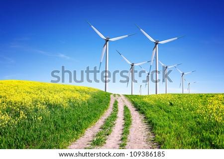 Clean Energy - stock photo