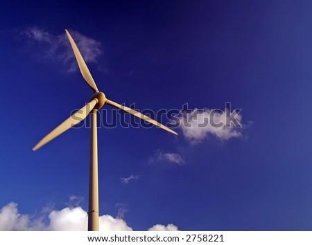 Clean energy. - stock photo