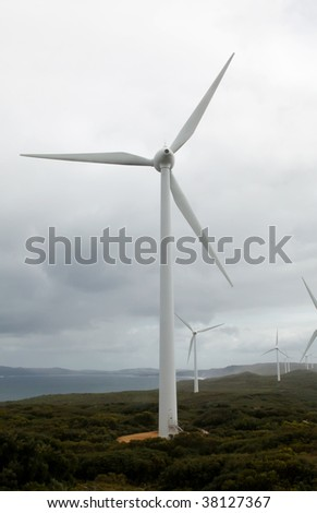 Clean Energy Environmental Through a Wind Farm
