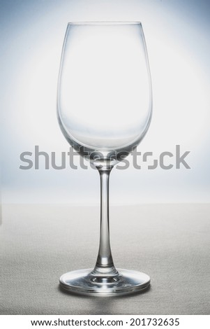 Clean glass  - stock photo