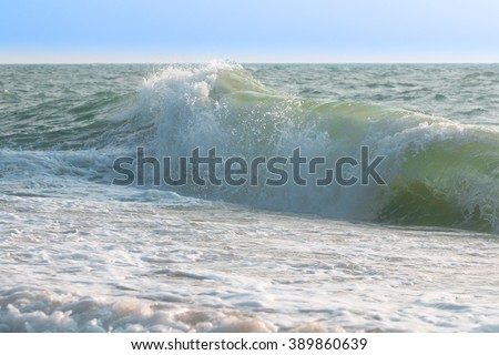 clean ocean waves , surf Blue , Indian Ocean