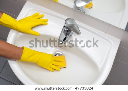 Clean up your house - stock photo