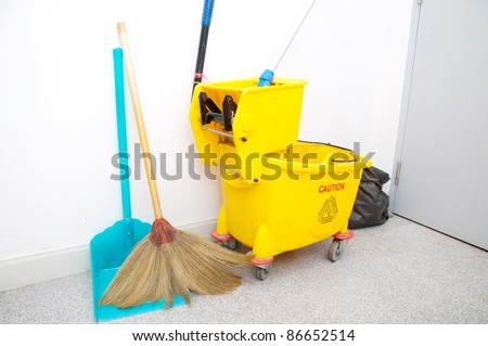 cleaner set - stock photo