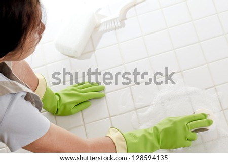 Cleaning, - stock photo
