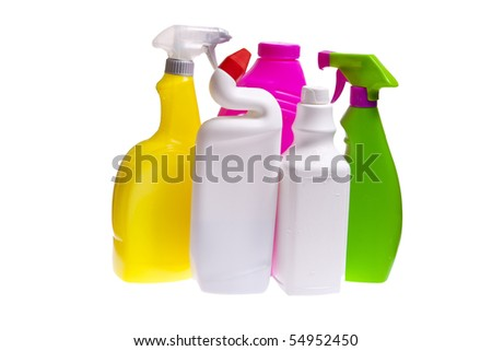 cleaning and sanitation - stock photo