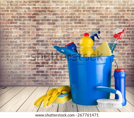 Cleaning, Equipment, Cleaning Equipment. - stock photo