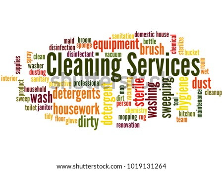 another word for cleaning service