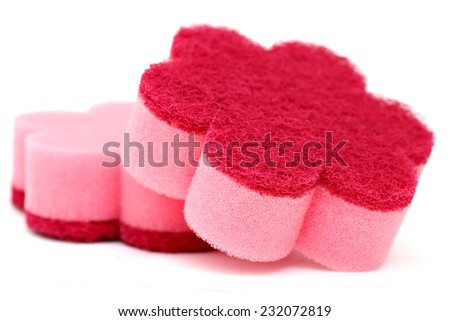 Cleaning Sponge - stock photo