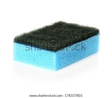 cleaning sponge for cleaning - stock photo