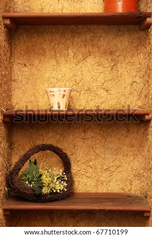 Cleans Shelves - stock photo