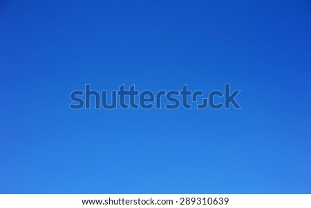clear blue sky - stock photo