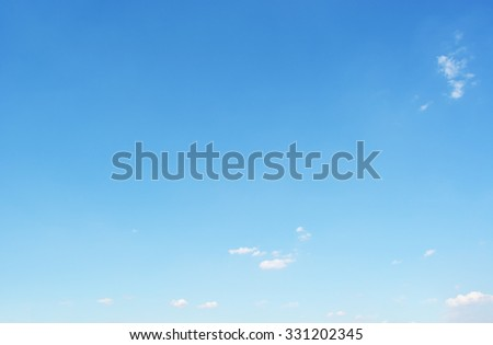 clear blue sky - stock photo