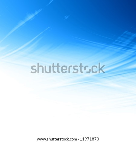 clear blue sky, no clouds - stock photo