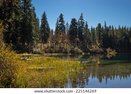 Clear Lake in Autumn