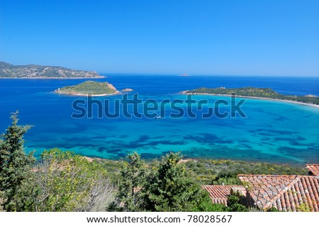 Clear sea of San Teodoro - Sardinia, Italy