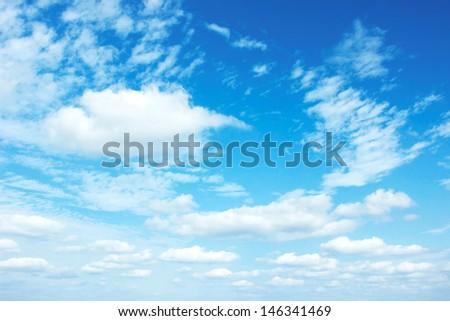 clear sky - stock photo