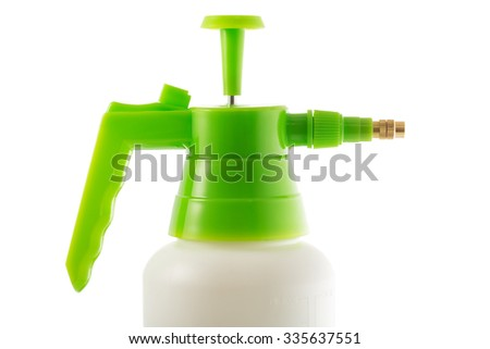 Clear Spray Bottle, isolated on white background