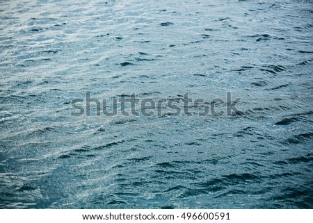 clear transparent water in swimming pool sea or ocean blue or turquoise color as natural textured background