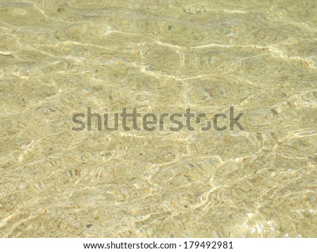 Clear water background - stock photo