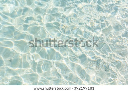 Clear water background. - stock photo