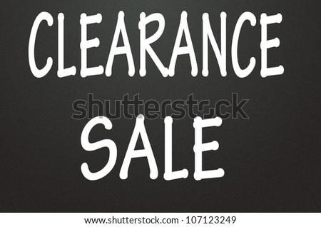 clearance sale symbol - stock photo