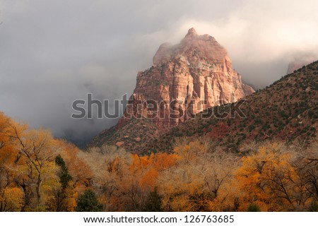 Clearing Storm at Zion National Park