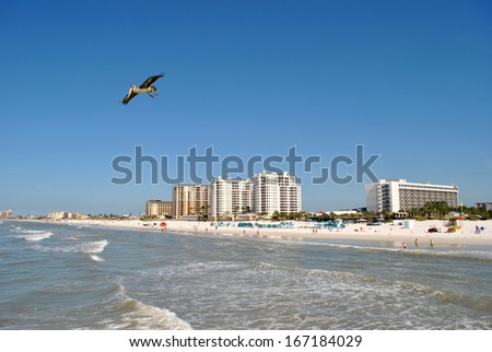 Clearwater Beach Florida - stock photo