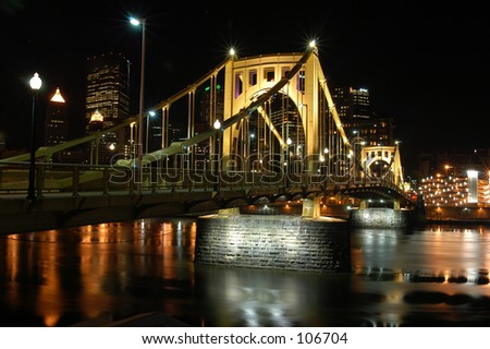 Clemente Bridge - stock photo