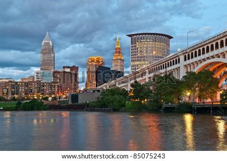 Cleveland - stock photo