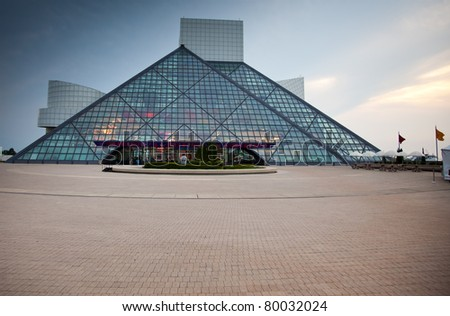 CLEVELAND – JUNE 21:  Rock & Roll Hall of Fame designed I.M. Pei, opened on September 1, 1995 and celebrates its new exhibit – Women Who Rock – on June 21, 2011 in Cleveland, Ohio.