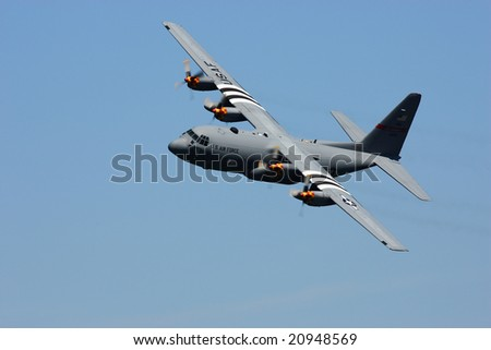 CLEVELAND, OH - SEPTEMBER 1: An unidentified prop plane performs at THE CLEVELAND NATIONAL AIR SHOW September 1, 2008