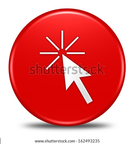 click here button isolated
