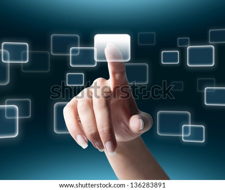 click your connection with the world - stock photo