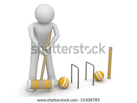 Clicket - Sports collection - stock photo