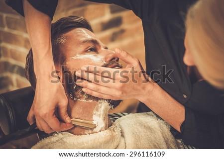 barber shave stock images royalty free images vectors shutterstock. Black Bedroom Furniture Sets. Home Design Ideas