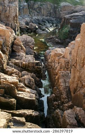 cliffs - stock photo