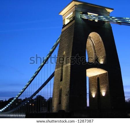 Clifton Suspension Bridge - stock photo
