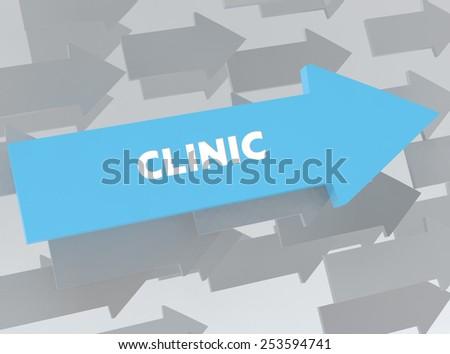 CLINIC - stock photo