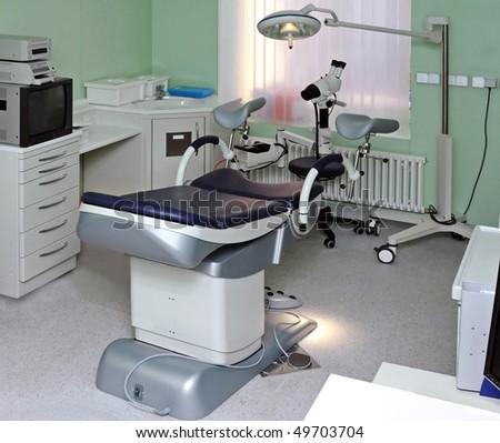clinic interior - stock photo