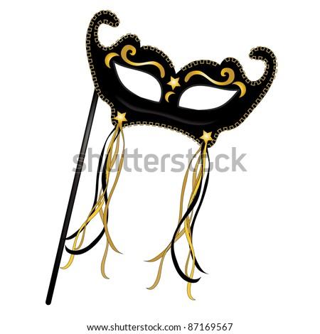 clip art illustration black mardi gras stock illustration 87169567 rh shutterstock com Gold Star Border Clip Art Super Star Clip Art