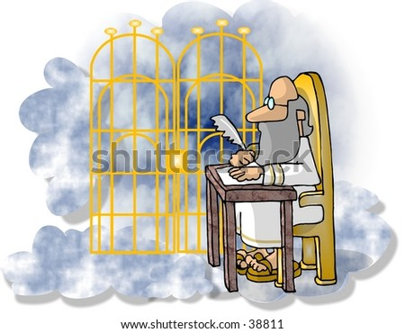 Pearly Gates of Heaven Pearly Gates Stock Photo