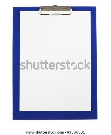 Clipboard - stock photo