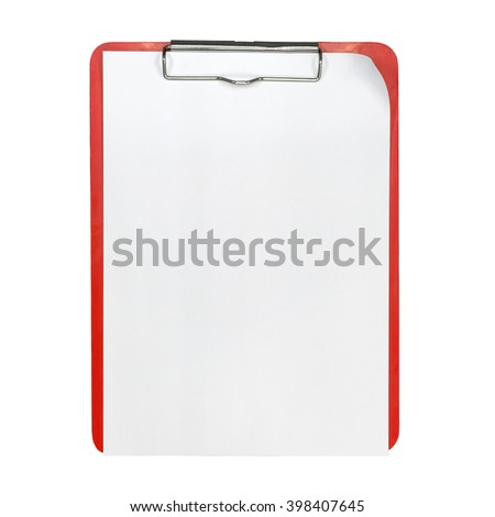 clipboard for text and background - stock photo