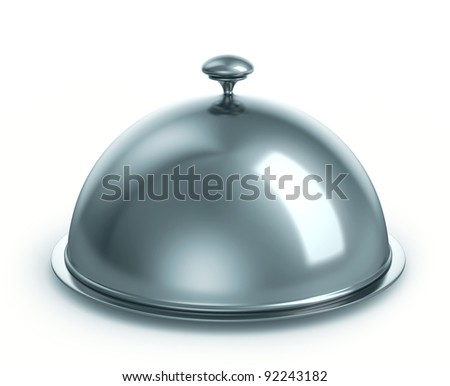 Cloche, isolated on white background with a clipping path - stock photo