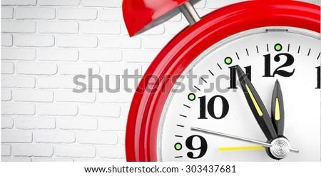Clock, Alarm Clock, Time. - stock photo