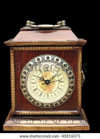 clock b - stock photo