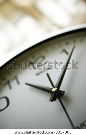 Clock Background - stock photo