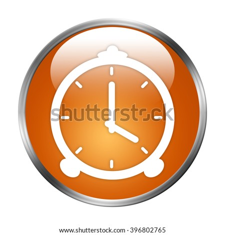 clock button isolated