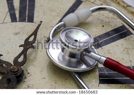 Clock Doctor - stock photo